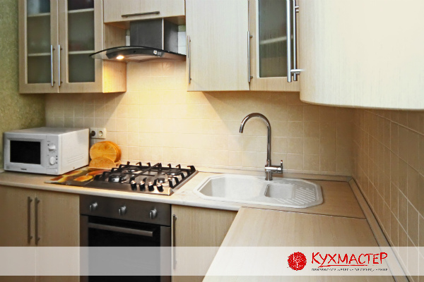 Лучше угловая кухня или прямая кухонная глянцевая мебель