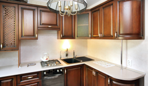Фото дизайна маленькой кухни из магазина Кухмастер в Саратове