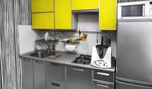 Фото дизайна кухни в хрущевке из магазина Кухмастер в Саратове