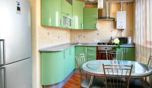 Фото угловой кухни, сделанной в Кухмастере