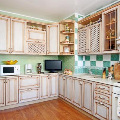 Фото встроенной кухни из магазина Кухмастер в Саратове