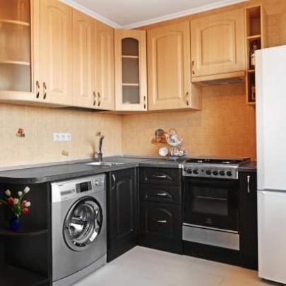 Фото дизайна маленькой угловой кухни из магазина Кухмастер в Саратове
