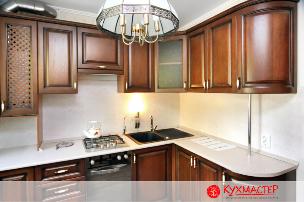 Кухонный гарнитур фото дизайн для маленькой кухни