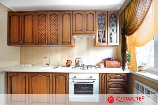 Фото интерьера маленькой кухни в квартире