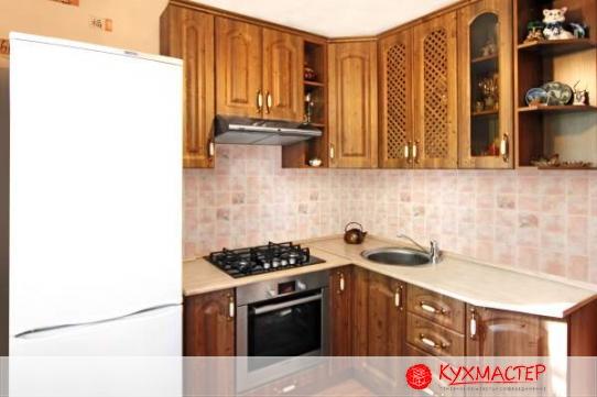 Фото интерьера кухни для хрущевки из магазина Кухмастер в Саратове
