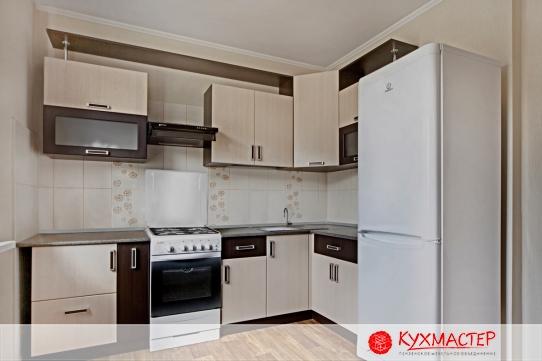 Фото дизайна малогабаритной угловой кухни из магазина Кухмастер в Саратове